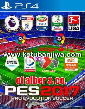 PES 2017 PS4 Compilation Patch 1.1 by Alber + CO Ketuban Jiwa