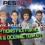 PES 2017 PS4 Option File v0.1 Asia + Oceania by Pesout