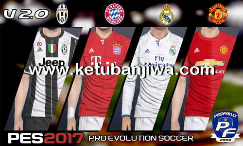 PES 2017 PS4 Option File 2.0 by PESFan Ketuban Jiwa