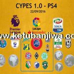 PES 2017 PS4 CYPES 1.0 Option File Patch