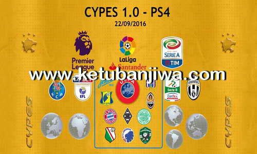 PES 2017 PS4 Option File CYPES 1.0 Ketuban Jiwa