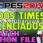PES 2017 PS4 Option File Patch Update by Notag Games