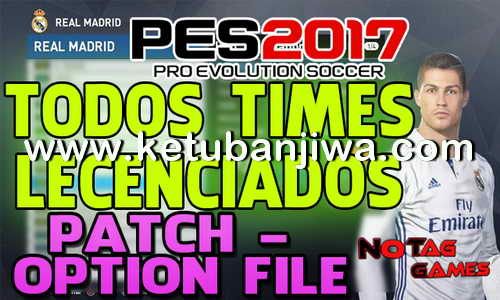 PES 2017 PS4 Option File Patch Update by Notag Games Ketuban Jiwa
