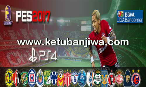 PES 2017 PS4 Option File v1 Liga MX by Petriz Ketuban Jiwa