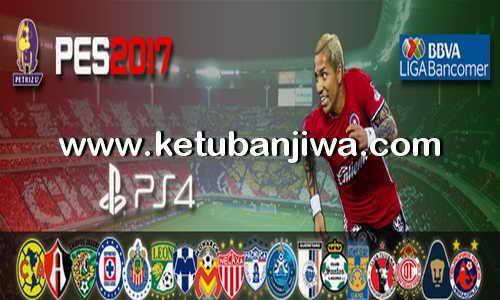 PES 2017 PS4 Option File v1 Liga MX by Petriz Ketuban Jiwa