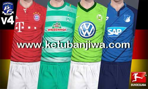 PES 2017 PS4 Option File v4.0 Bundesliga by PESFan Ketuban Jiwa