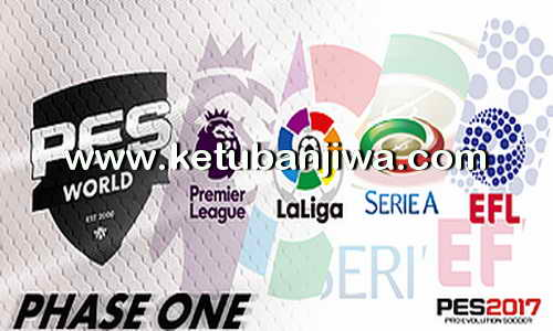 PES 2017 PS4 Phase One Option File by PES World Ketuban Jiwa