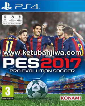 PES 2017 PS4 Region US Full Games + Update 1.01 Ketuban Jiwa