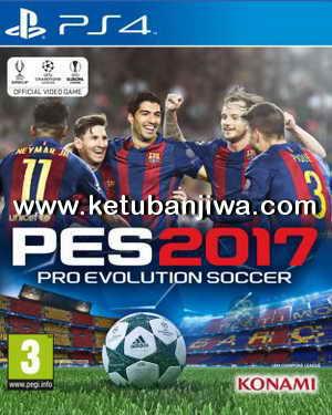 PES 2017 PS4 Region US Full Games + Update 1.01 Ketuban Jiwa