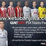 PES 2017 PS4 Teams Pack v0.1 by WEHK