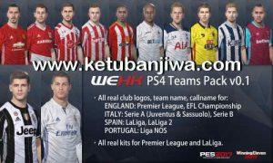 PES 2017 PS4 Teams Pack 0.1 by WEHK Ketuban Jiwa