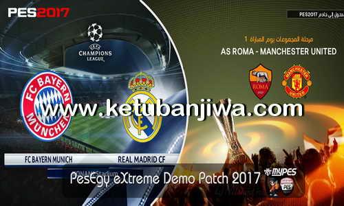 PES 2017 PesEgy eXtreme Patch v1 For PC Demo Ketuban Jiwa