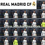 PES 2017 Real Madrid FC Faces Pack 1.0 by Tran Ngoc
