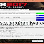 PES 2017 Settings.exe For Check Specifications
