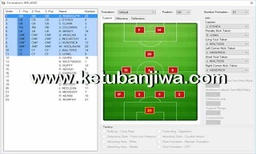 PES 2017 Team Editor Manager 2.4 Tool by Lagun-2 Ketuban Jiwa