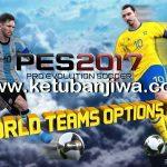 PES 2017 PS4 World National Teams Option File v1.0