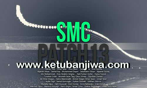 PES 2013 SMC Patch Season 2016-2017 by SmileModding Ketuban Jiwa