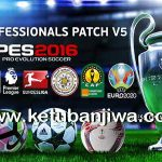 PES 2016 PES Professionals Patch 5.0 AIO Single Link