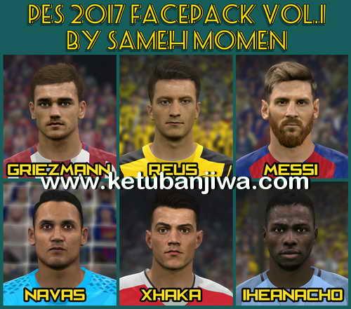 PES 2017 Facepack Vol.1 by Sameh Momen Ketuban Jiwa