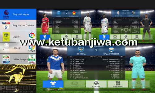 PES 2017 License Patch 2.0 For PC by PESLover Ketuban Jiwa