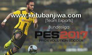 PES 2017 PS3 BLUS-BLES-BLAS Bundesliga Team Exports