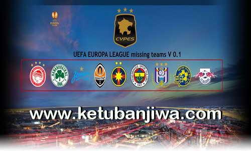 PES 2017 PS4 Europa League Option File v0.1 by CYPES Ketuban Jiwa