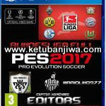 PES 2017 PS4 Option File Full Bundesliga