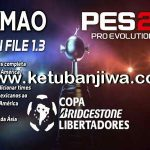 PES 2017 PS4 Rptimao Option File 1.3 Full Libertadores