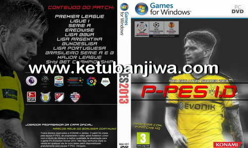 PES 2013 P-PES Patch 1.0 Season 2016-2017 For PC Ketuban Jiwa