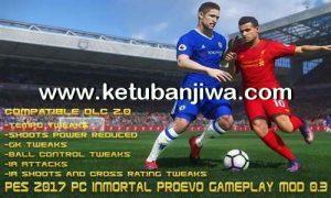 PES 2017 InMortal ProEvo GamePlay Mod 0.3
