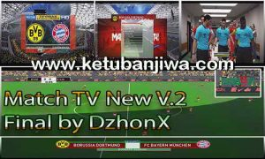 PES 2017 New Match TV v2 Final by DzhonX