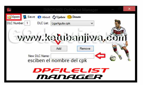 PES 2017 XBOX 360 DpFileList Manager by Extream87 Ketuban Jiwa