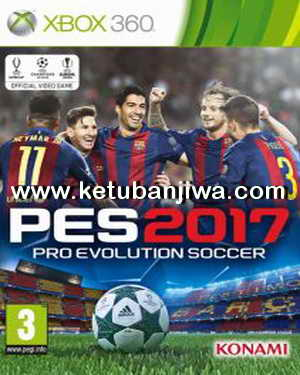 PES 2017 XBOX 360 Official Data Pack DLC 1.0 + DpFile U Ketuban Jiwa
