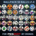 PES 2017 Ballpack 50 Balls 1.0 by cRoNoS
