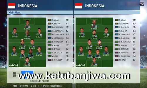 PES 2017 Indonesia Addon 1.1 Fix For PTE Patch 3.1 Ketuban Jiwa
