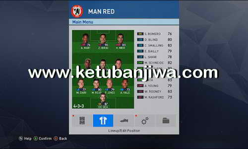 PES 2017 MiniFace All EPL Teams by Dr.Winnal Ketuban Jiwa