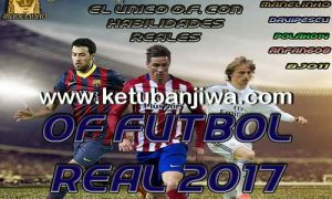 PES 2017 PS3 NPEB / BLES Option File Futbol Real v1