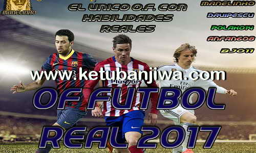 PES 2017 PS3 NPEB - BLES Option File Futbol Real v1 by Manelinho Ketuban Jiwa