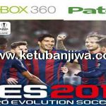 PES 2017 XBOX 360 Legends Patch v1 Update 08.12.2016