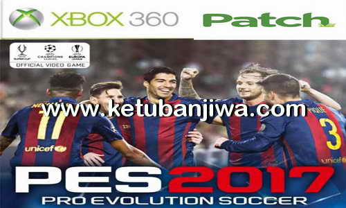PES 2017 XBOX360 Legends Patch v1 Update Tattoo Mod Ketuban Jiwa