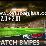 PES 2017 BMPES Patch 2.0 + 2.01 With Serial