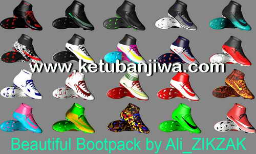 PES 2017 Beautiful Boots Pack by Ali ZIKZAK Ketuban Jiwa