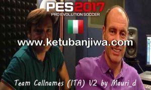 PES 2017 Callnames Team v2 AIO by Mauri-d