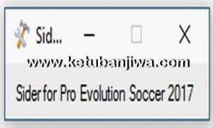 PES 2017 Sider 3.1.0 Tool by Juce & Nesa24
