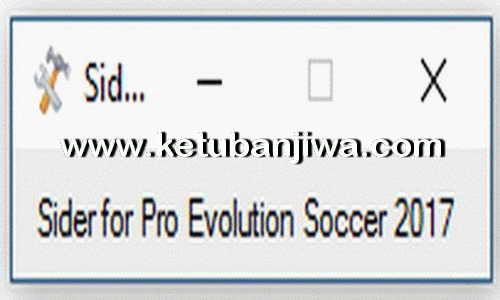 PES 2017 LiveCPK Sider v3.0 Tool by Juce & Nesa24 Ketuban Jiwa