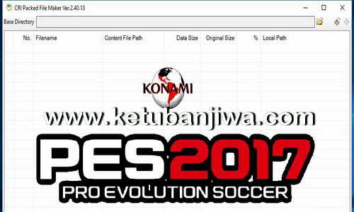 PES 2017 New Version CpkFileExplorer Tool v2.40.13.0 Ketuban Jiwa