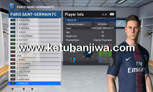 PES 2017 PESProfessional Patch 2.1 Option File Update by M.Gamal Ketuban Jiwa