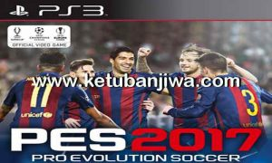 PES 2017 PS3 CFW BLES + BLUS Option File 15.01.2017