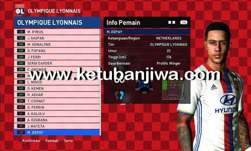 PES 2017 PTE 4.0 Transfer Update 21 January 2017 by Zenin ZeroPes Rohman Ketuban Jiwa