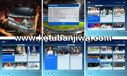 PES 2017 Real Madrid Graphic Menu by Ez.Com7 Ketuban Jiwa